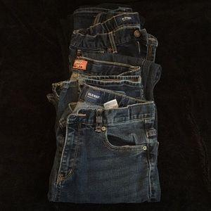 Old Navy Boys Skinny adjustable jeans